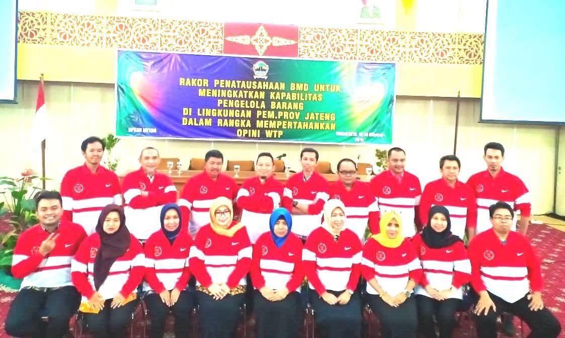 Rakor Penatausahaan BMD Dalam Rangka Mempertahankan Opini WTP Pemerintah Provinsi Jawa Tengah